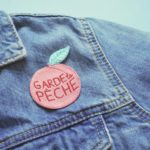 patch garde la pêche accessoire pour customiser sa veste en jean