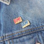 pin's pour customiser sa veste en jean bim bam