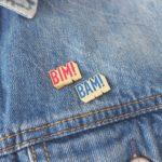 pin's pour customiser sa veste en jean bim bam