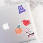 stickers pour personnaliser son ordinateur