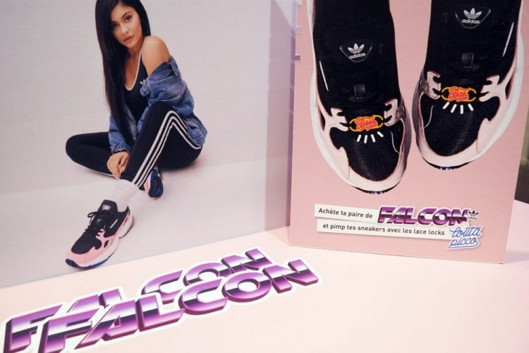 lace locks adidas falcon kylie jenner