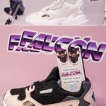 collaboration avec adidas falcon