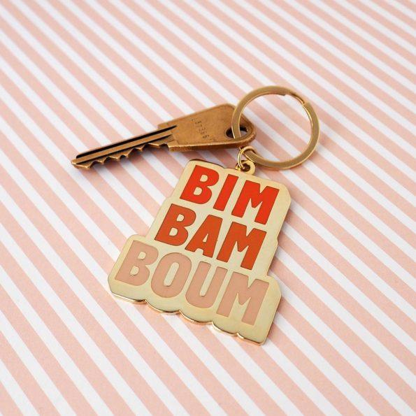 porte clé original bim bam boum