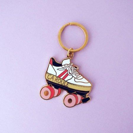 porte-clés roller quad vintage ça roule