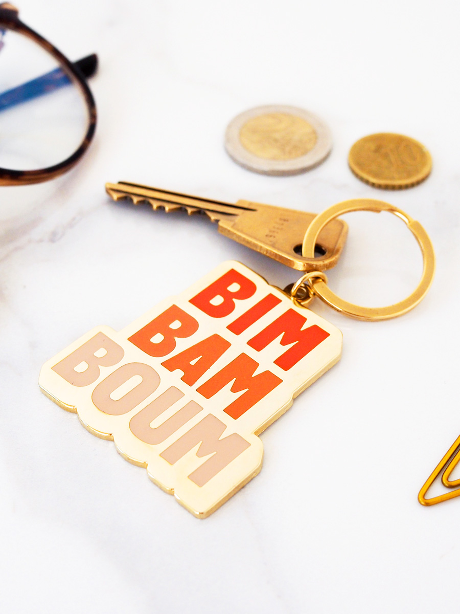 Porte-clés Bim bam boum